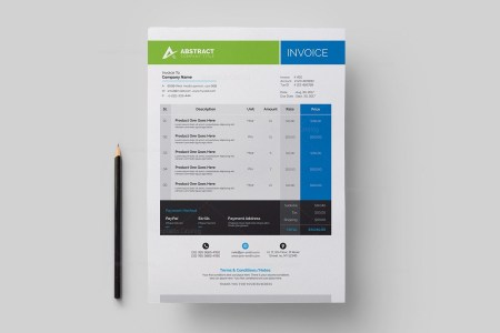 Corporate Invoice Template 000330   Template Catalog Corporate Invoice Template 2