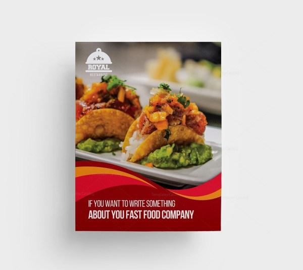 Taco Food Menu Template
