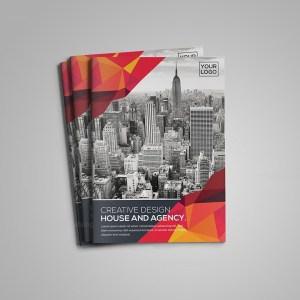 A4 Bifold Brochure Template
