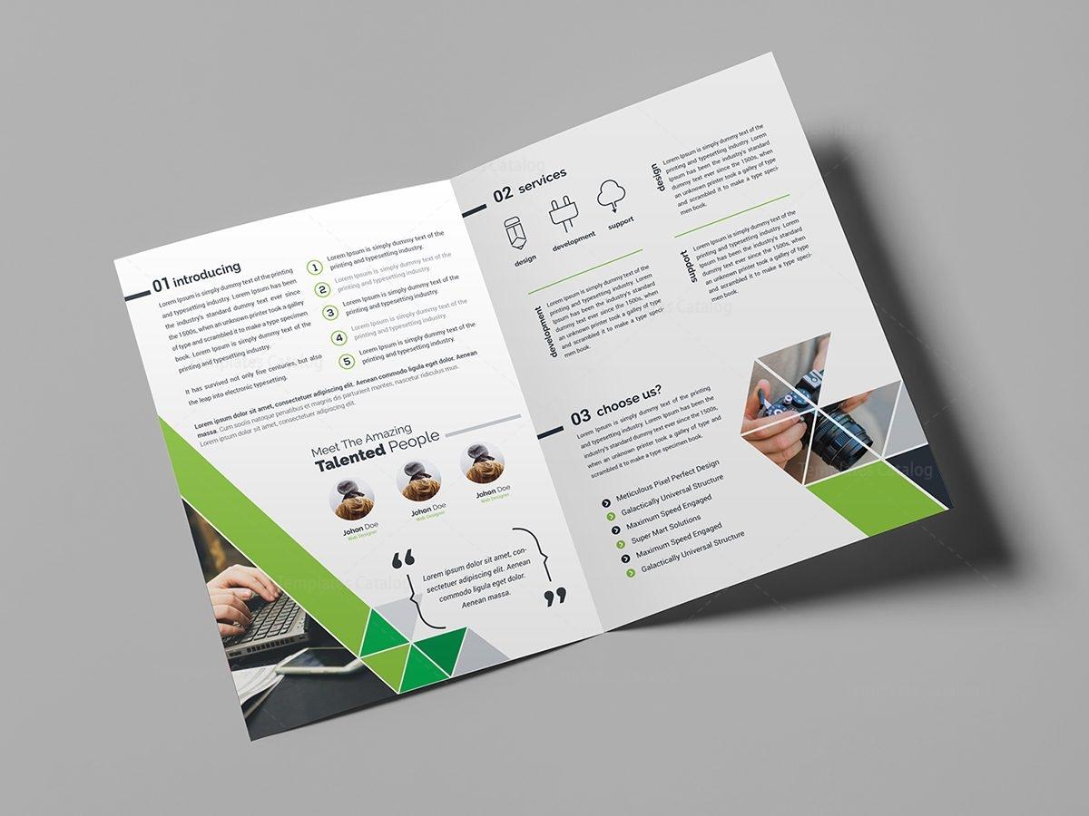 business brochure design template 000439