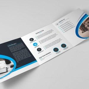Corporate Trifold Brochure Template