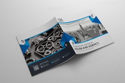 Creative Bifold Square Brochure Template