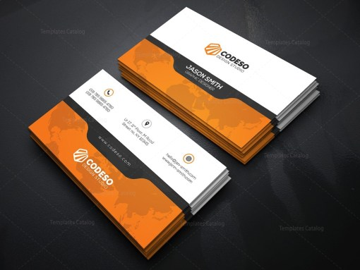 Creative Business Card Template with Perfect Style