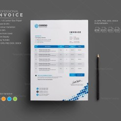 Invoice Template for Companies