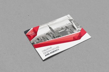 Landscape Bifold Brochure