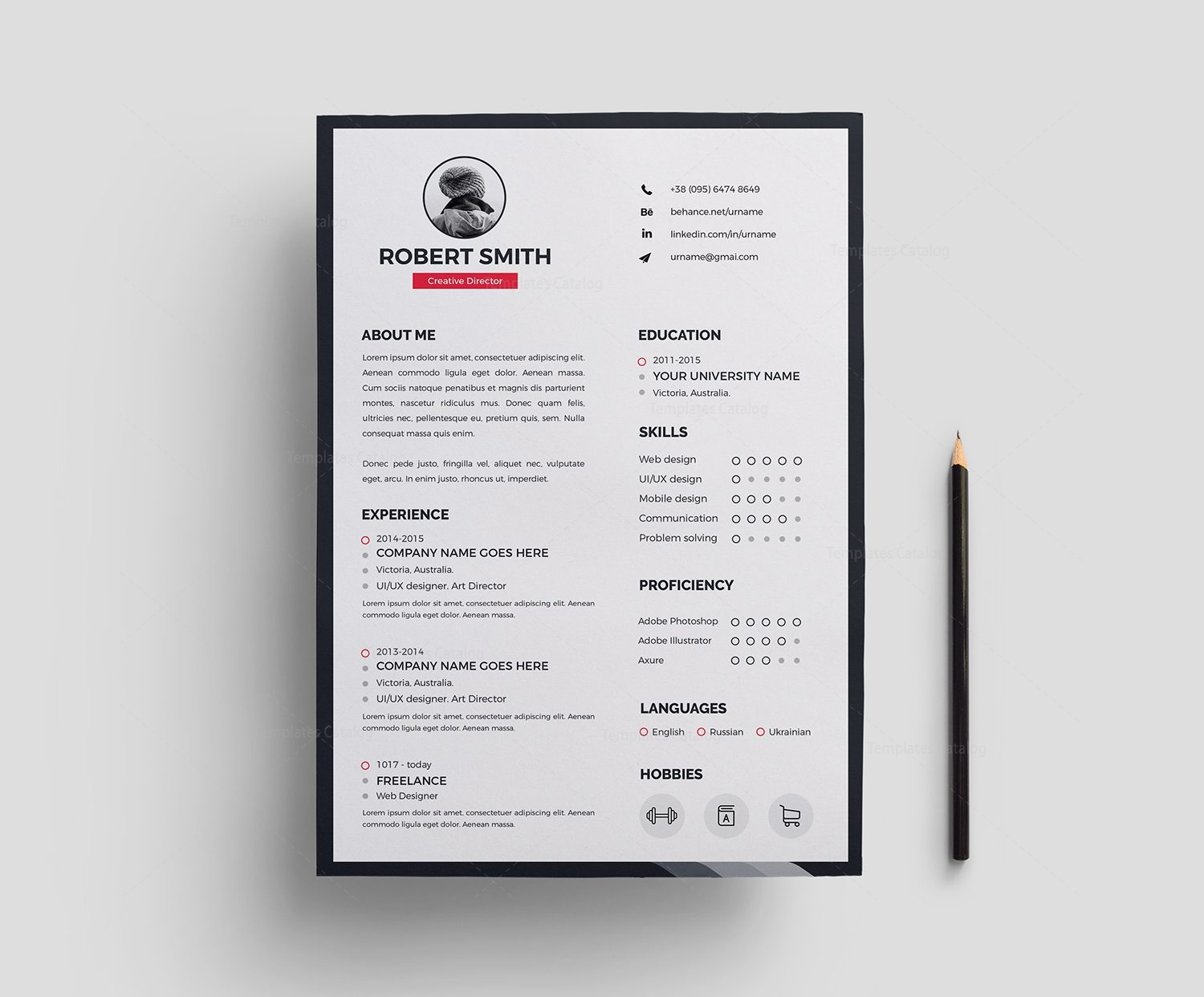 color on resume resume design template 000378 template catalog 1242