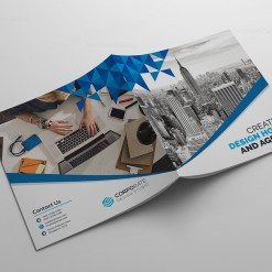 Brochure Template with Elegant Style