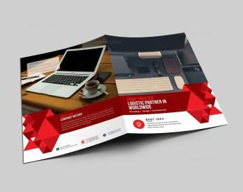Elegant Corporate Presentation Folder Template