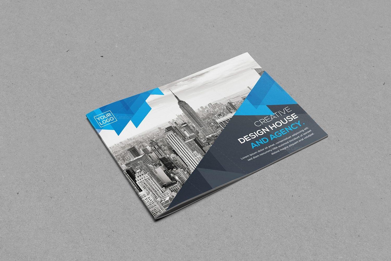 Landscape Brochure Template Design