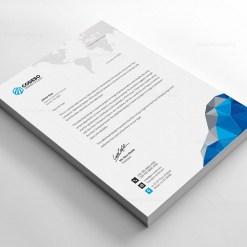 Letterhead Template for Companies