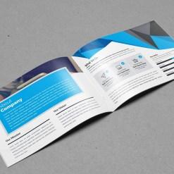 Modern Landscape Brochure Template