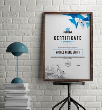 Modern Simple Certificate Template