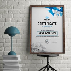 Modern Simple Certificate Template