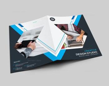 Stripe Presentation Folder Template