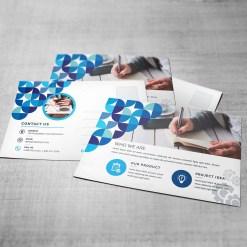 Stylish Post Card Template