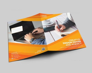 Stylish Presentation Folder