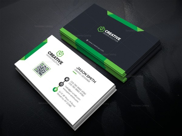 Stylish Technologic Business Card Template