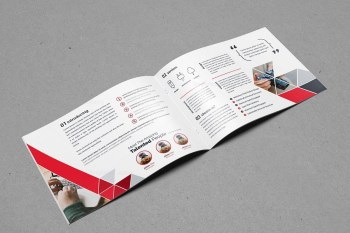 Triangle Stylish Landscape Brochure