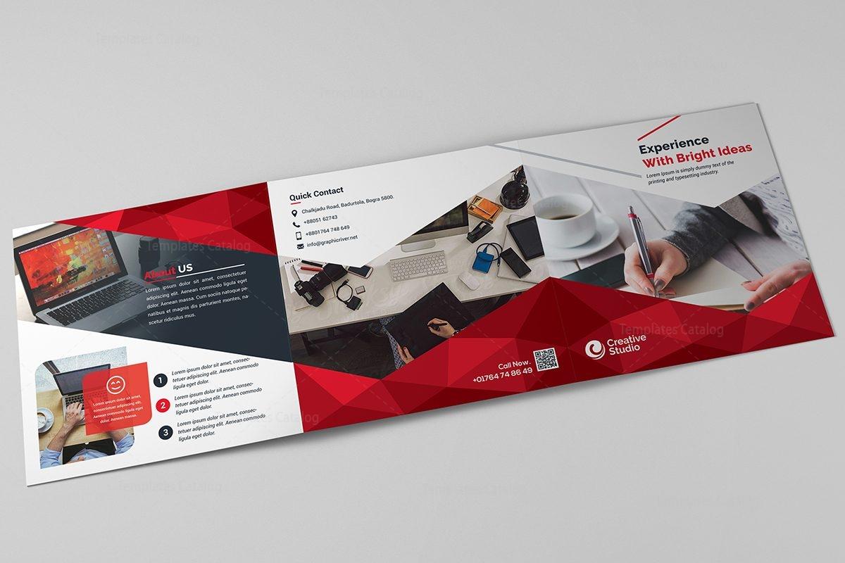 Apollo Corporate Tri Fold Brochure Template