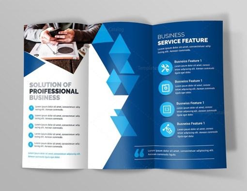 Business Premium Tri-Fold Brochure Template
