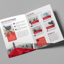 Classy Bi-Fold Brochure Template