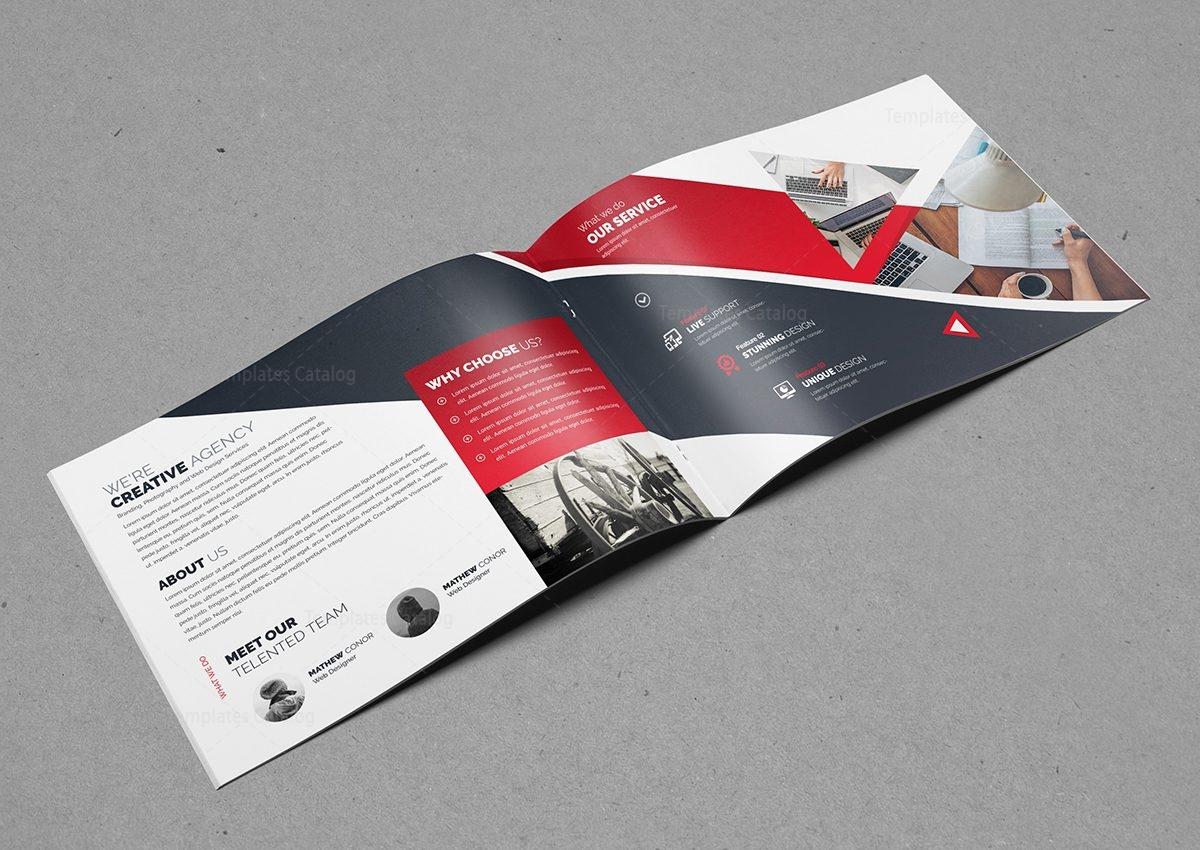Creative Business Landscape Brochure Template