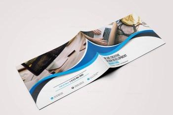 First Class Landscape Brochure Template