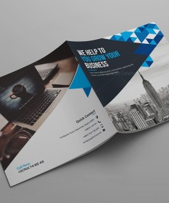 Hera Corporate Bi-Fold Brochure Template