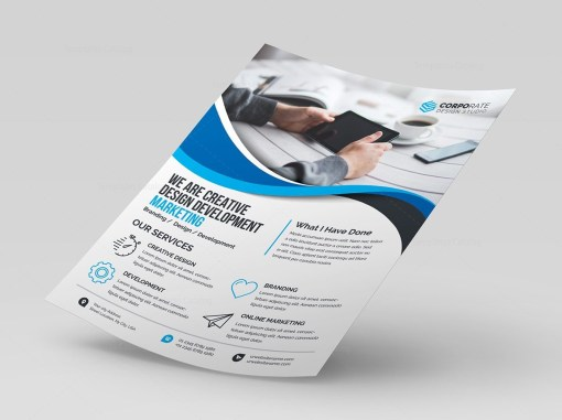 High Quality Corporate Flyer Template