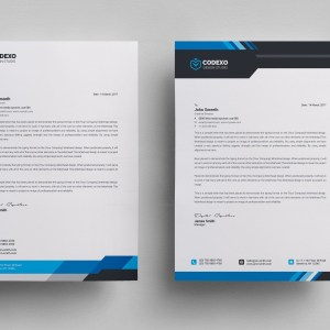 High Quality Letterhead Stationery Template