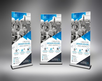 High Quality Roll-Up Banner Template
