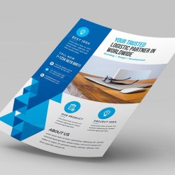 Modern Corporate Flyer Design Template