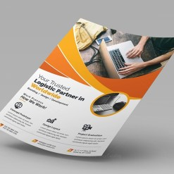 Moon Corporate Flyer Template
