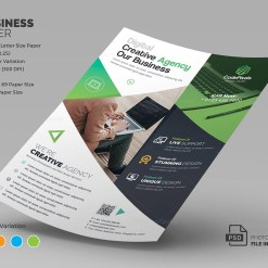 Neptune Corporate Flyer Template