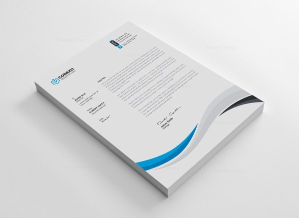 Perfect Letterhead Template