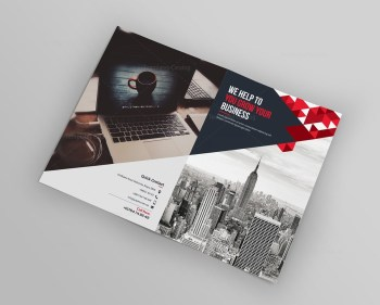 Peridot Bi-Fold Brochure Template