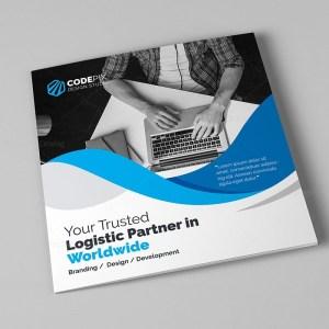 Pure Corporate Tri-Fold Brochure Template