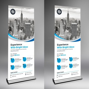 Rigel Creative Roll-Up-Banner Template