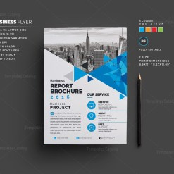 Saturn Corporate Flyer Template
