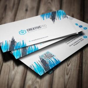 Sharp Professional Business Card Template