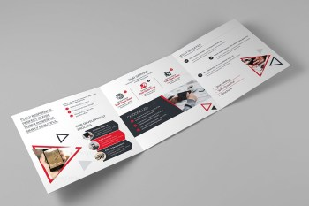 Spectrum Corporate Tri-Fold Brochure Template