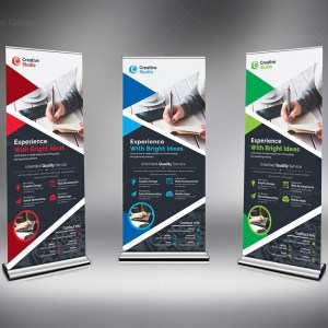 Store Roll Up Banner Template