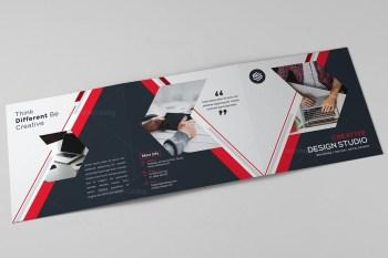 Venus Corporate Tri Fold Brochure Template