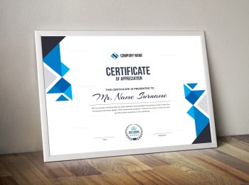 Angel Corporate Certificate Template