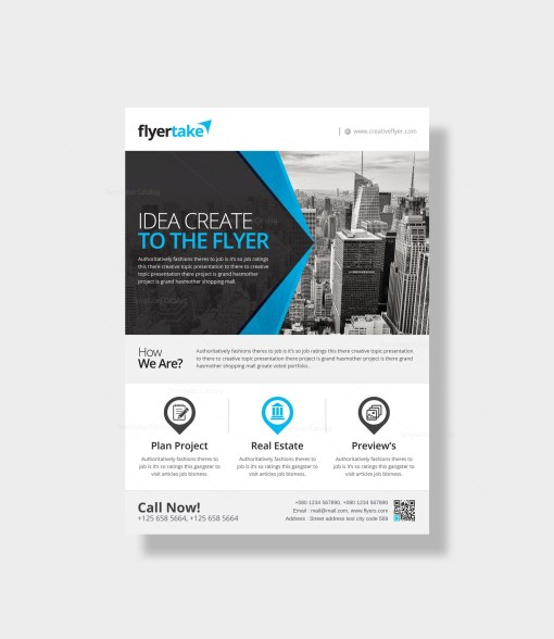 Ares Elegant Corporate Flyer Template