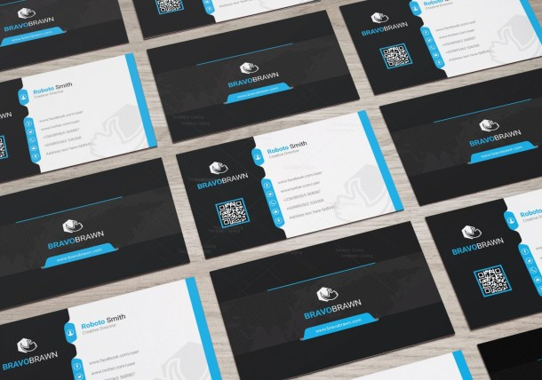 Bravo Elegant Corporate Business Card Template
