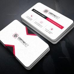 Brilliant Elegant Corporate Business Card Template