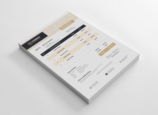 Demeter Stylish Corporate Invoice Template