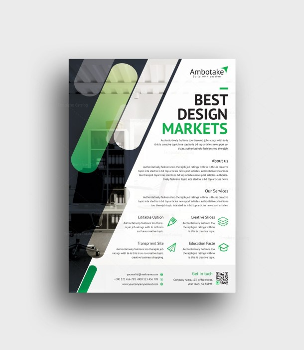 Hesperus Professional Corporate Flyer Template