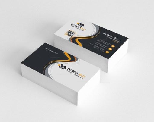 Panda Corporate Business Card Template